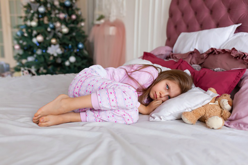 preventing holiday stress in kids
