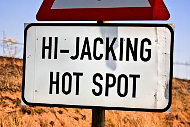 How To Avoid A Hijacking