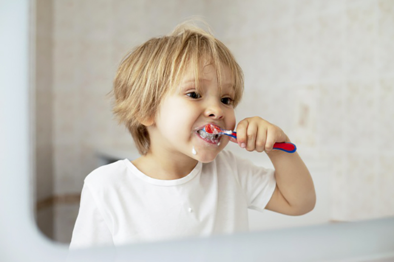 Improving your kids oral hygiene habits